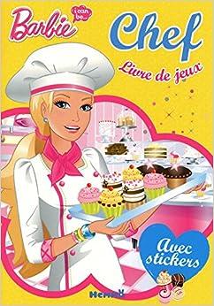 Livre de jeux visuel vert barbie i can be - Jeux info barbie ...