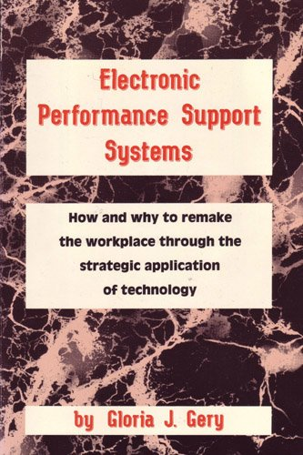 Electronic Performance Support System Gloria Gery