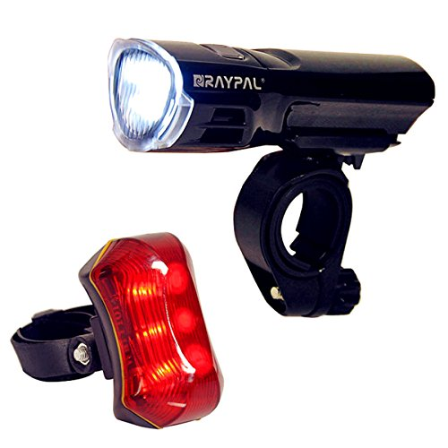 Benran Ultra Bright Headlight Taillight for Bicycle (Black)