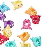 Imported 36pcs Baby Girl Cartoon Mini Hair Claw Clips Cute Jaw Hair Clips Hairpin #3