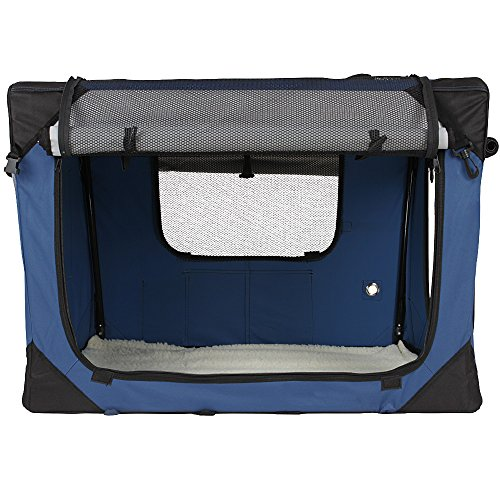 klappbare transportbox f r hund katze kleintier. Black Bedroom Furniture Sets. Home Design Ideas