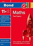 Andrew Baines Bond 11+ Test Papers Maths Standard Pack 1 (Bond Assessment Papers)