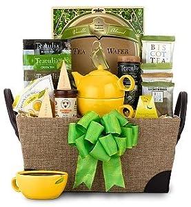 Traditional Teatime Gift Basket