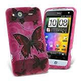 Celicious Pink Wing Designer TPU Gel Case for HTC Salsa HTC Salsa Case Cover