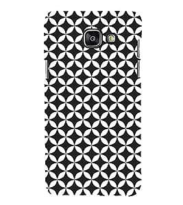 Self Black Design Cute Fashion 3D Hard Polycarbonate Designer Back Case Cover for Samsung Galaxy A3 (2016) :: Samsung Galaxy A3 2016 Duos :: Samsung Galaxy A3 2016 A310F A310M A310Y :: Samsung Galaxy A3 A310 2016 Edition