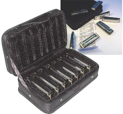 Hohner Blues Harmonica Set Diatonisches Mundharmonikaset