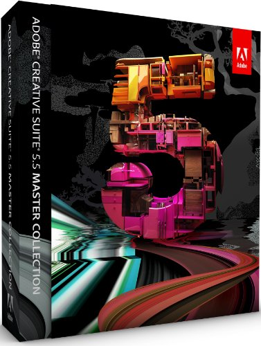 Adobe Creative Suite 5.5 Master Collection Upsell from any single CS2/3/4/5 suite, Studio 8, Production Studio (PC)