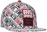 Concept One Boys' Big Hero 6 Printed Logo Flat Brim Hat