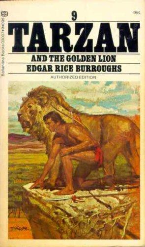 Tarzan and the Golden Lion, Edgar Rice Burroughs