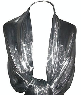 GFM Sheer Shimmer Iridescent Scarf (CHBH-0)