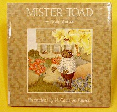 Mister Toad PDF