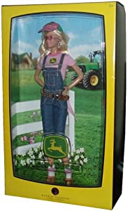 Amazon.com: Barbie Collector Pink Label John Deere Edition