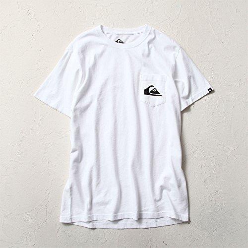 (クイックシルバー) QUIKSILVERポケットTシャツ メンズ ホワイト M