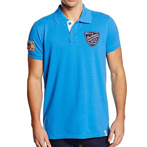 Petrol Industries-Polo M-SS16 POL927 Dytona Bright blu XXL