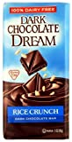 Dark Chocolate Dream Rice Crunch Dark Chocolate Bar, 3-Ounce Bars (Pack of 12)