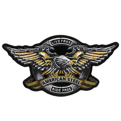 Hot Leathers Iron Eagle Biker Patch (11