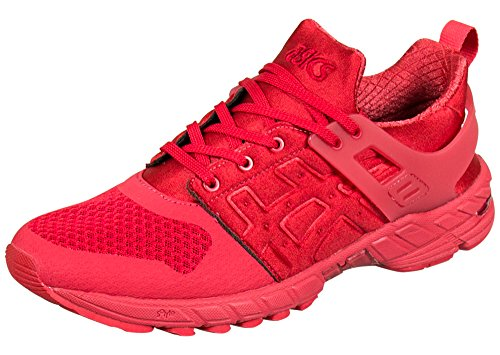 ASICS GT DS Retro Running Shoe, Classic Red/Classic Red, 10 M US