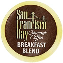 San Francisco Bay Coffee Breakfast Blend, 80 OneCup Single Serve Cups (Pack of 2) made by San Francisco Bay Coffee