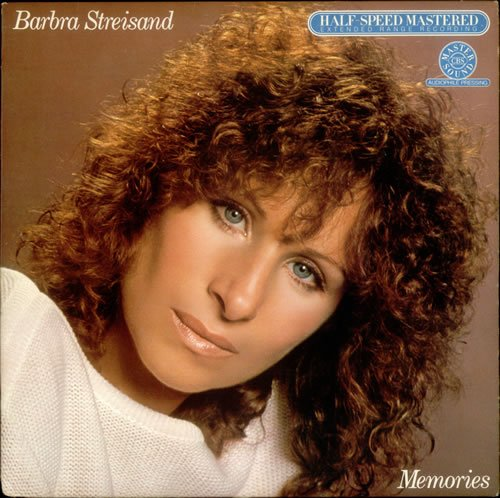 Barbra Streisand Memories 1981 USA vinyl LP HC47678