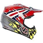 Troy Lee Designs Airstrike Air MX/Off-Road/Dirt Bike Motorcycle Helmet - Red / Medium