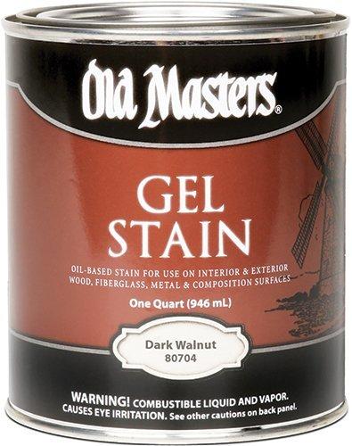 Old Masters 24991 80704 Gel Stain, Dark Walnut, 1 quart (Old Masters Dark Walnut Gel Stain compare prices)