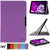 Lenovo Ideal Tab A10-70 10 Inch Case Cover, FYY® Slim Fit Folio Stand Leather Case Cover for Lenovo Ideal Tab A10-70 10 Inch Purple (With Auto Wake/Sleep Feature)