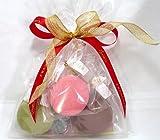 天使のマカロン 3個入w プチギフト 手土産 1個毎にリボン付き ギフト スイーツ ハロウィン お菓子 詰め合わせ