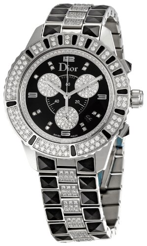 Christian Dior Women's CD11431DM001 Christal Stainless-Steel Bracelet Watch