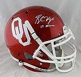 Baker Mayfield Autographed Oklahoma Sooners ProLine Helmet '17 Heisman-Beckett Auth
