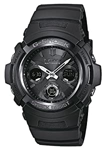 Casio Herren-Armbanduhr XL G-Shock Analog - Digital Quarz AWG-M100B-1AER