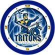 "California-San Diego Tritons Suntime 12"" Dimension Glass Crystal Wall Clock - NCAA College Athletics"