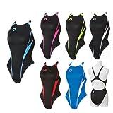アリーナ(arena) RIMIC リミック 女性競泳水着 FAR-2507W レディース FINA承認モデル BKFP(ブラック×Fピンク) SS