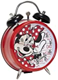 Minnie Mouse Mini Twin Bell Alarm Clock