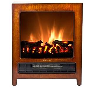 Frigidaire Kingston Wooden Floor Standing Electric Fireplace