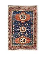 Eden Carpets Alfombra Elvan Rojo/Azul 271 x 183 cm