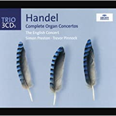 Handel: The Organ Concertos (3 CD's)