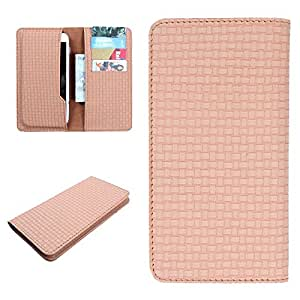 DooDa PU Leather Case Cover For Micromax Canvas 4 A210 (Beige)
