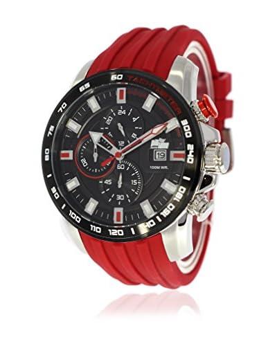 Pit Lane Reloj con movimiento Miyota Pl-1007-5 Rojo 46 mm