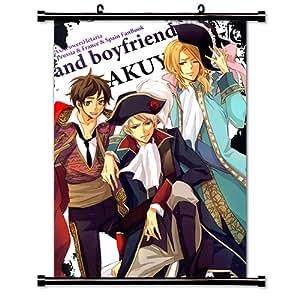 Amazon.com: Hetalia: Axis Powers Anime Fabric Wall Scroll Poster (32