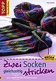 Zwei Socken gleichzeitig stricken: Ganz einfach mit einer Rundstricknadel