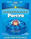 DVD - Ponyo (Two-Disc Blu-ray/DVD Combo)
