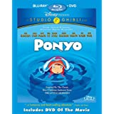 Ponyo (Two-Disc Blu-ray/DVD Combo) ~ Cate Blanchett