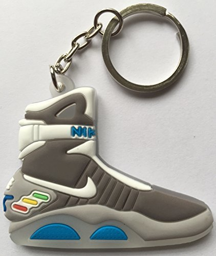 Back to the Future Keyring 2D Nike Air Mag Keychain Glow In The Dark NEW