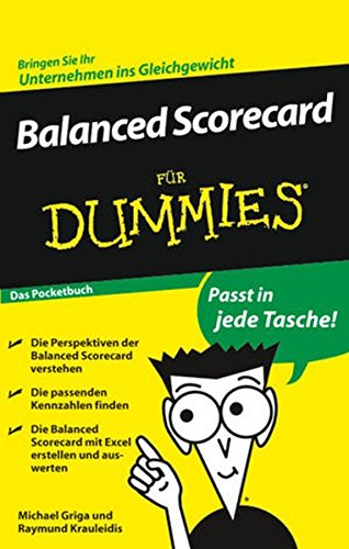 Balanced Scorecard für Dummies Das Pocketbuch