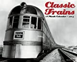 Classic Trains 2015 Wall Calendar