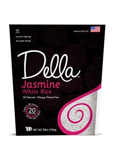 Della Jasmine White Rice, 28 Ounce (Pack of 6) (Della Rice compare prices)