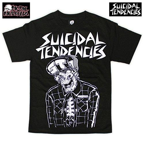 SUICIDAL TENDENCIES×METAL MULISHA/SKELETON S/S Print T-shirts(スイサイダル・テンデンシ-ズ×メタル・マリーシャ/スケルトンプリントTシャツ) S BLACK