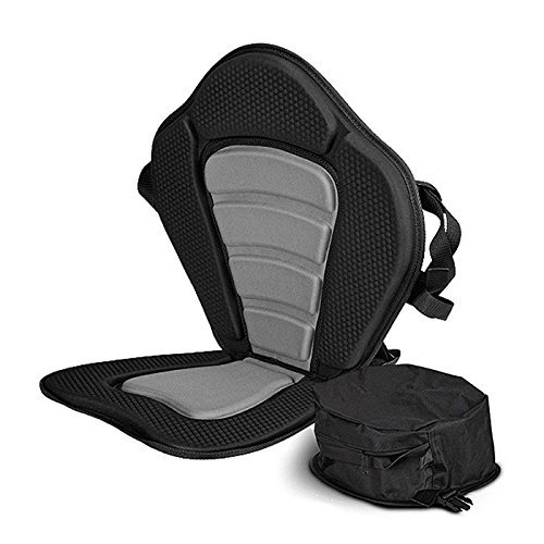 Sit-on-Top Deluxe Cushioned Kayak Seat With Back Pack Storage Pouch (Kayak Wax compare prices)