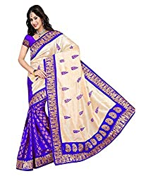 My online Shoppy Jacquard Saree (My online Shoppy_58_Multi-Coloured)