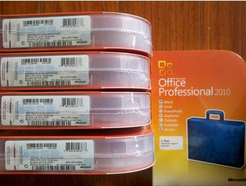 Microsoft Office 2010 Professional Ireland Retail Box